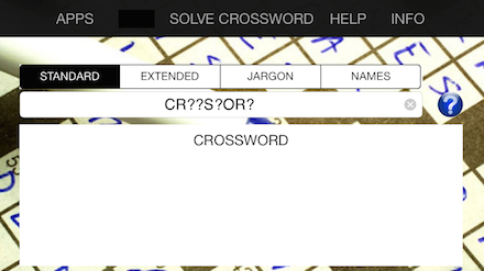 Crossword Solver 2